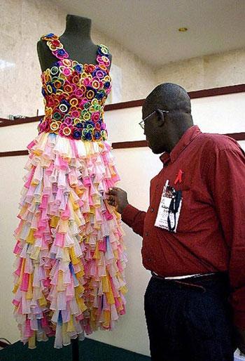 Необычные свадебные платья.