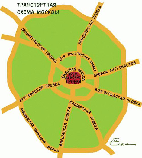 14 Сен Транспортная схема Москвы.