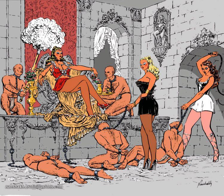 Мужчины рабы комиксы