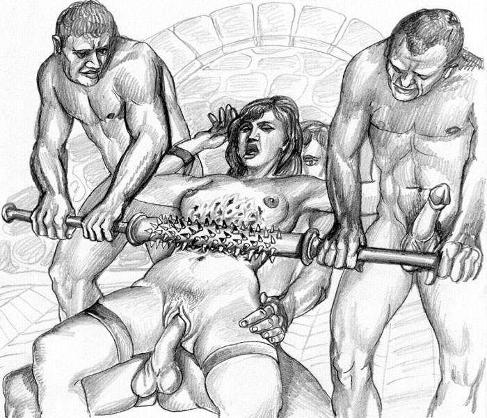 Порно рисунки жесть