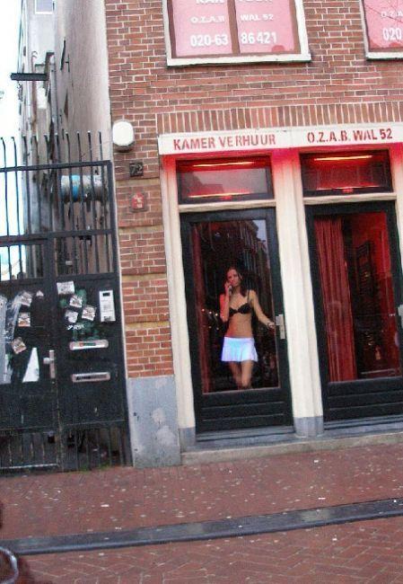 места обитания проституток